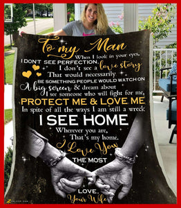 Blanket - To my man - I see home - yenyenstore