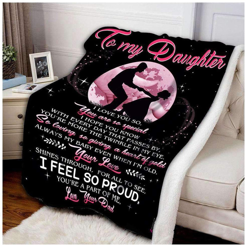 Blanket - Daughter - You're so special - yenyenstore
