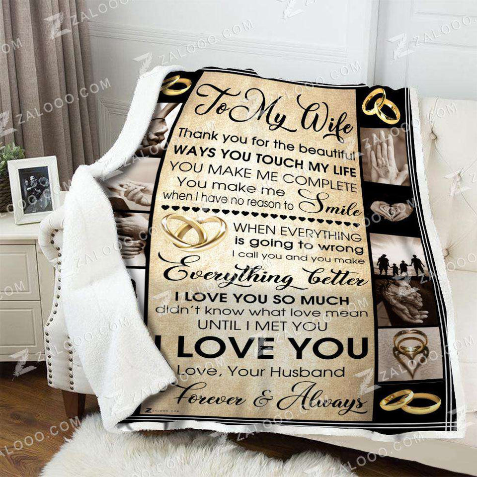 Blanket - Wife - Until I met you - yenyenstore