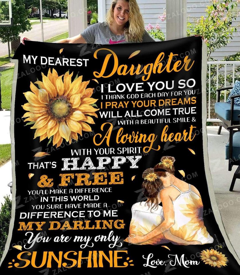 Blanket - Daughter - My only sunshine - yenyenstore