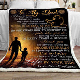 Blanket - Firefighter - To My Dad - I'm so lucky - yenyenstore