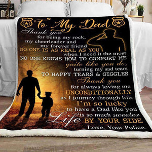 Blanket - Police - To My Dad - I'm so lucky - yenyenstore