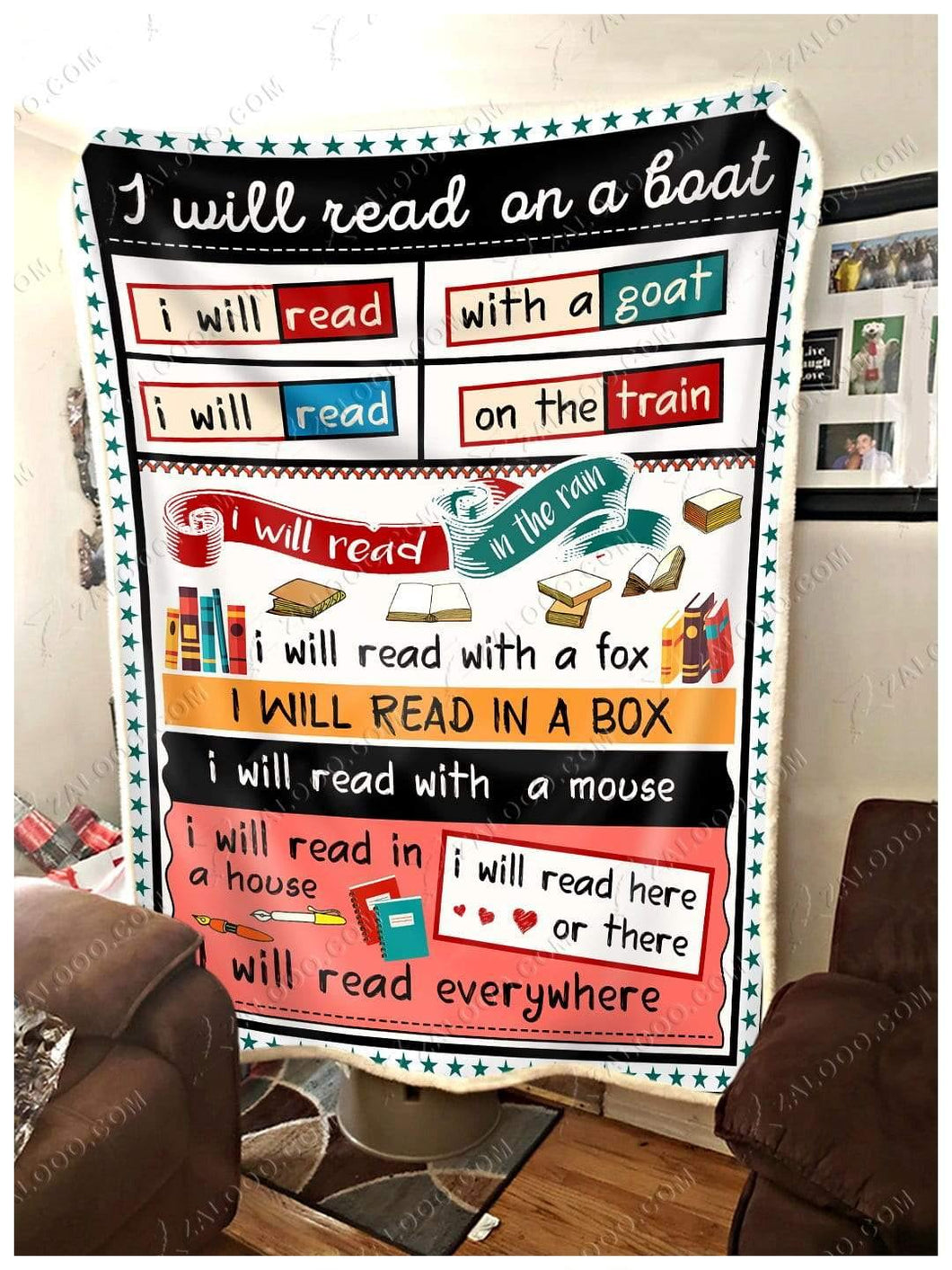 Blanket - Book -  I Will Read