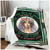 Blanket Hippie What A Wonderful World2 - Zalooo.com Custom Wall Art Canvas