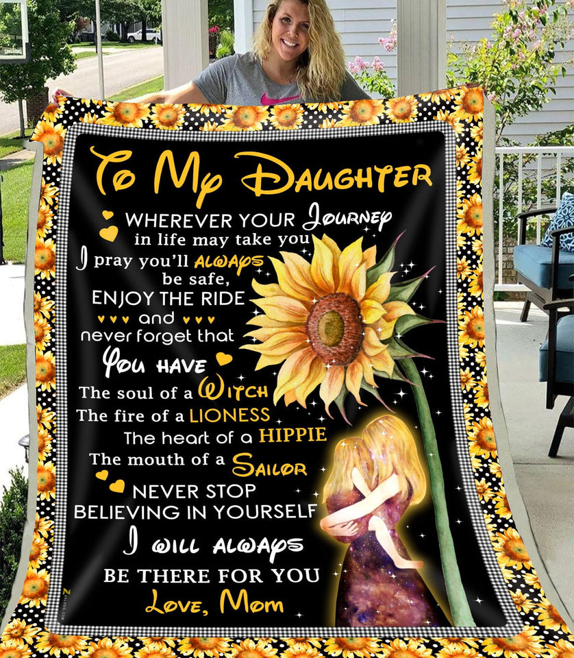 Blanket - To my daughter - You have the soul