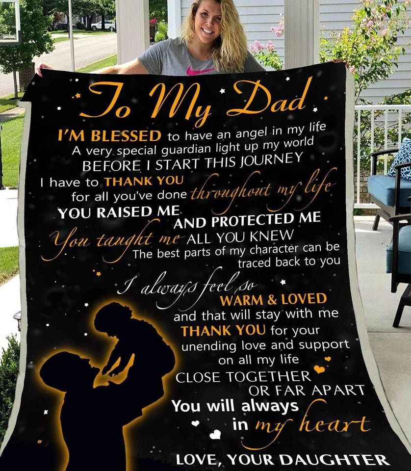 Blanket - To My Dad - I'm Blessed - yenyenstore