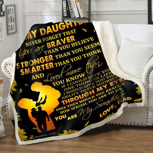 Blanket - To my daughter - Through my eyes - yenyenstore