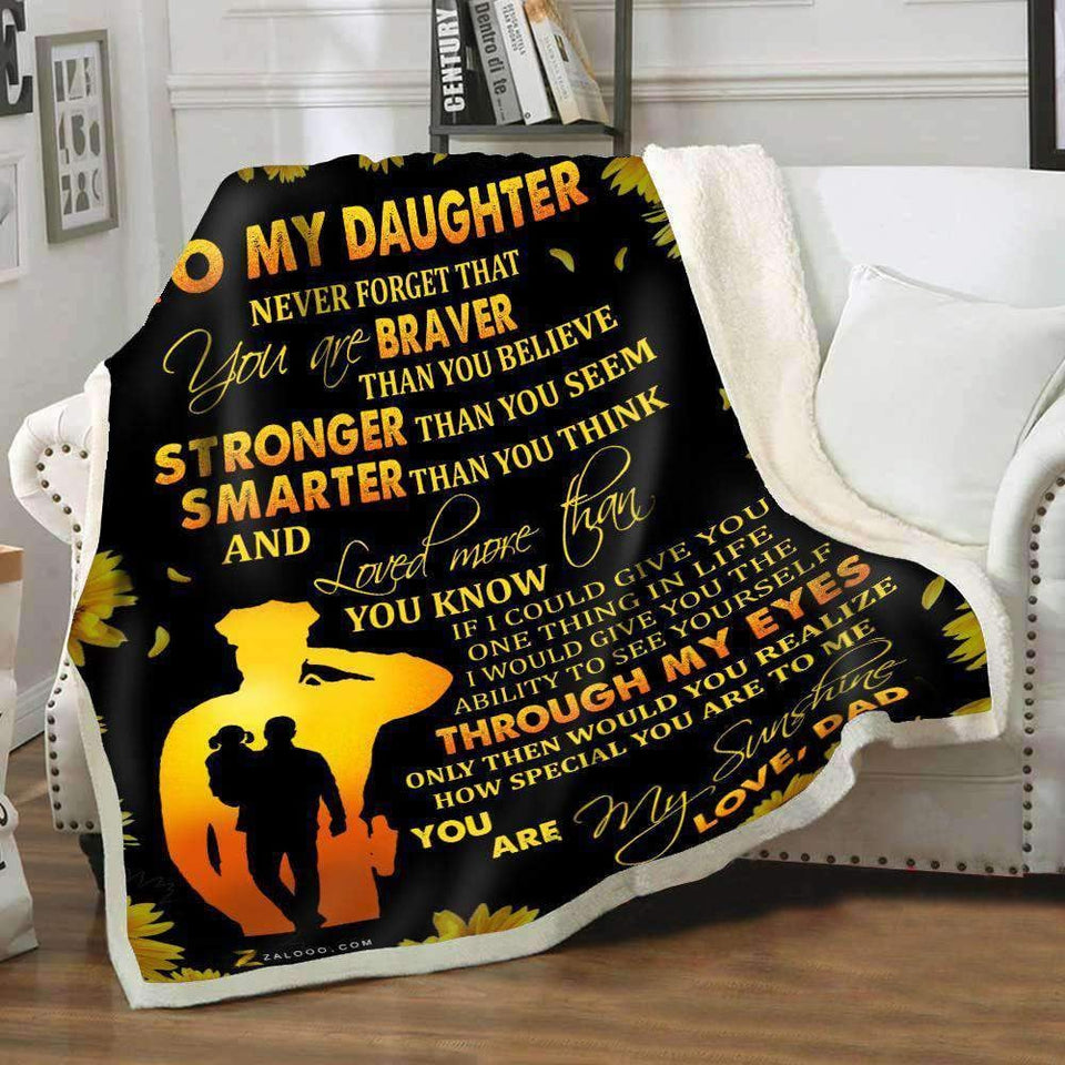 Blanket - Police - To my daughter - Through my eyes - yenyenstore