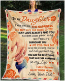 BLANKET DAUGHTER (Dad) I Wish You