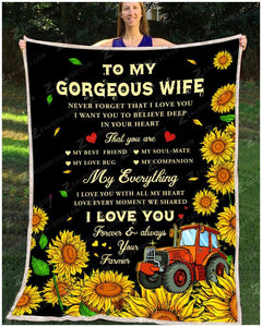BLANKET FARMER To my wife My everything