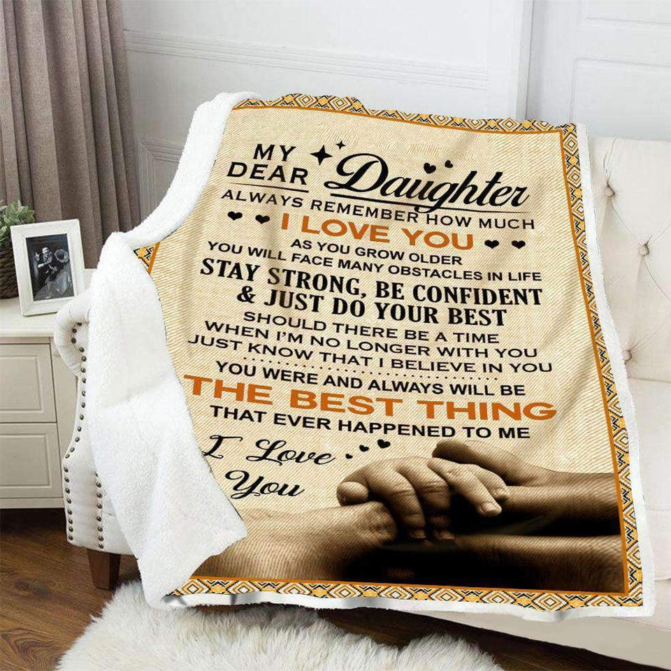 BLANKET - My dear Daughter - The best thing - yenyenstore