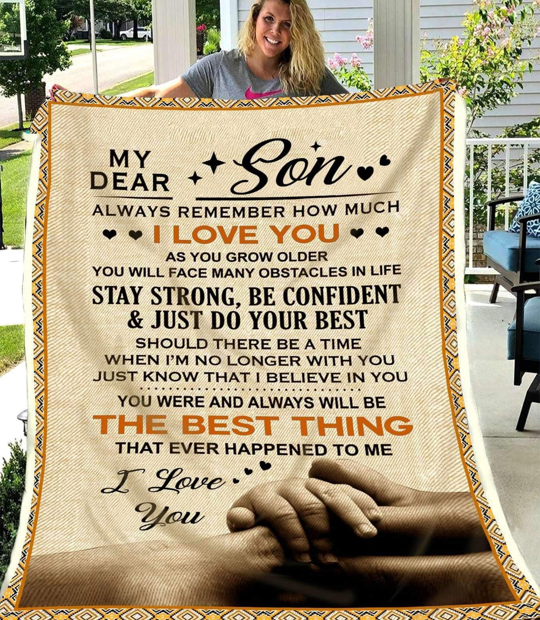 BLANKET - My dear son - The best thing - yenyenstore