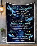 BLANKET DRAGONFLY Granddaughter (Nanner) Once Upon A Time - Zalooo.com Custom Wall Art Canvas