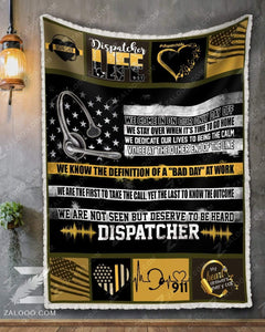 BLANKET DISPATCHER Dispatcher Life - Zalooo.com Custom Wall Art Canvas