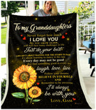 BLANKET Granddaughters (Gam) I'll always be with you