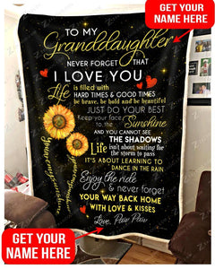 BLANKET CUSTOM You are my sunshine - Zalooo.com Custom Wall Art Canvas
