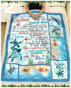 Zalooo - Blanket - Turtle - To My Daughter - I'll Always Be There ct