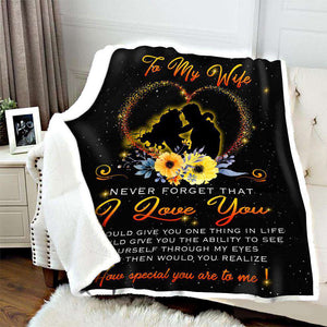 BLANKET - To my wife - How special you are to me - yenyenstore