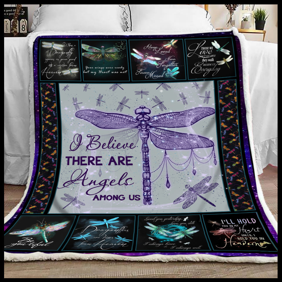 Blanket Dragonfly I believe there are angels among us