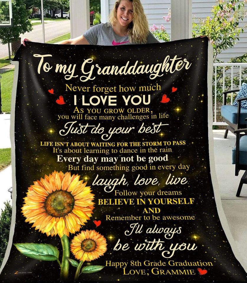 Happy 8th Grade Graduation - Granddaughter (Grammie) - I'll always be with you - yenyenstore