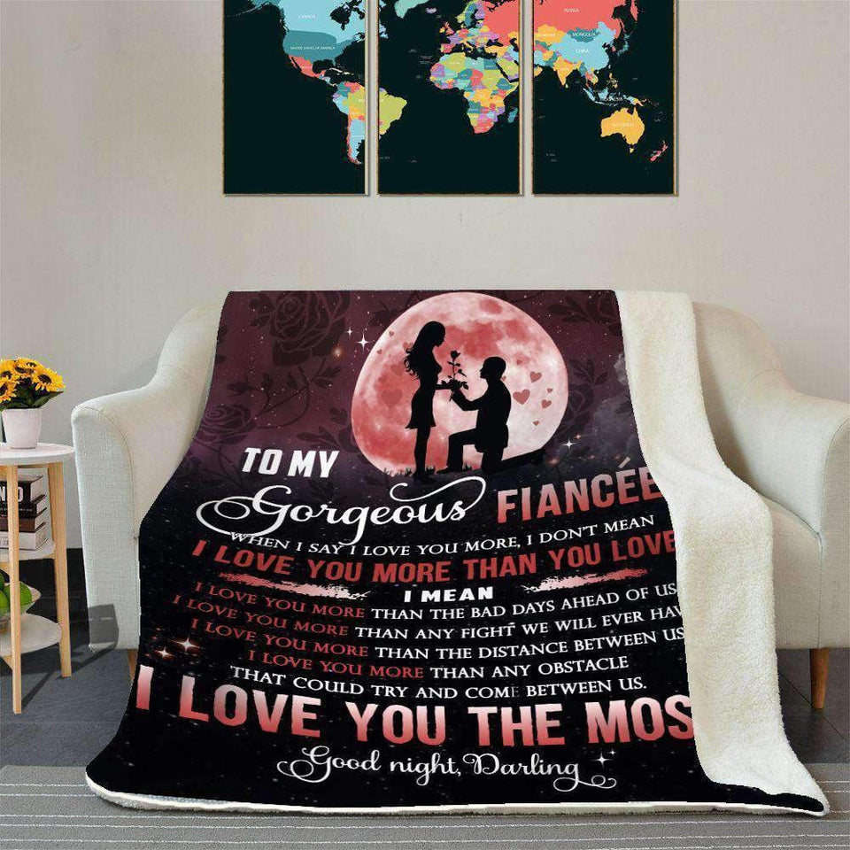 BLANKET - Fiancee - I Love You The Most - yenyenstore