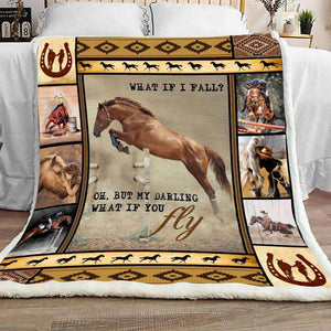 BLANKET - Horse - What If You Fly - yenyenstore