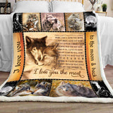 BLANKET - Wolf - I Love You The Most - yenyenstore