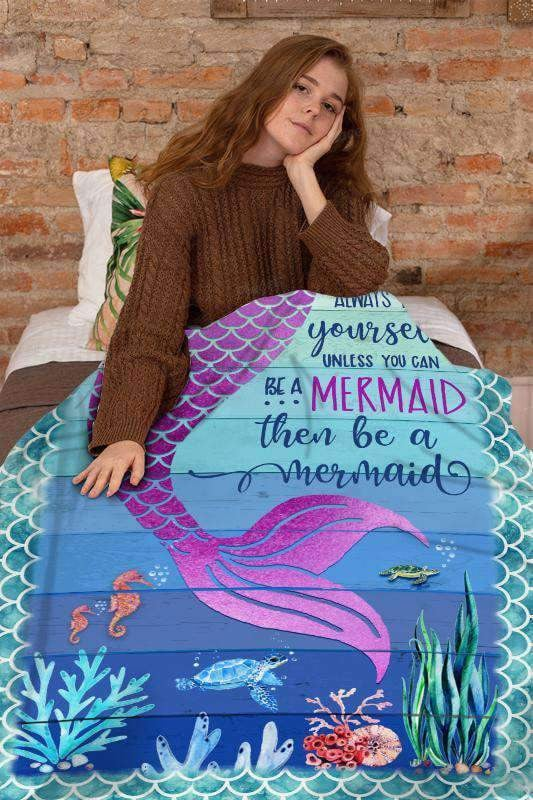 BLANKET - Mermaid - Be A Mermaid - yenyenstore
