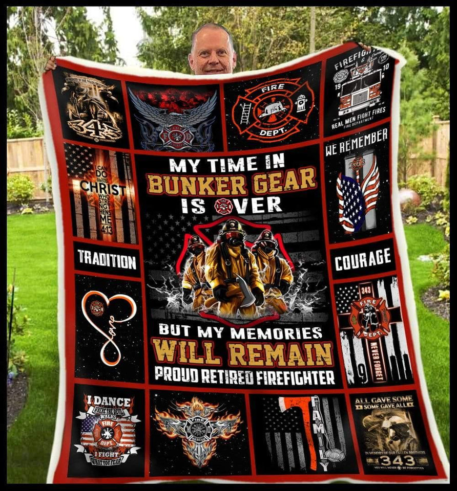 Blanket Firefighter Will Remain