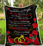 Blanket To my Wife The day I met you