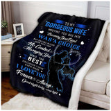 BLANKET - To my Wife - Meeting you was fate - yenyenstore