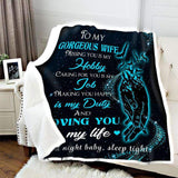 BLANKET - Loving you is my life (Blue) - yenyenstore