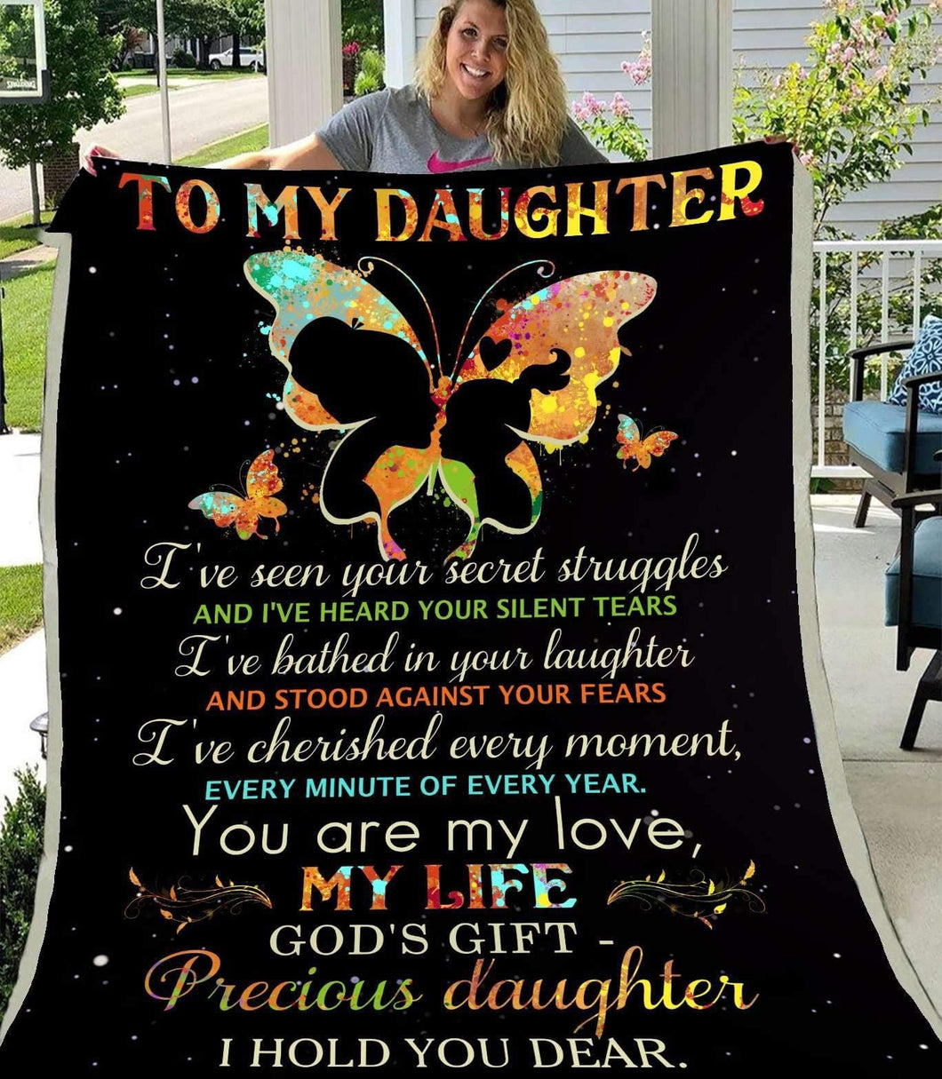 BLANKET - Butterfly - To My Daughter - yenyenstore