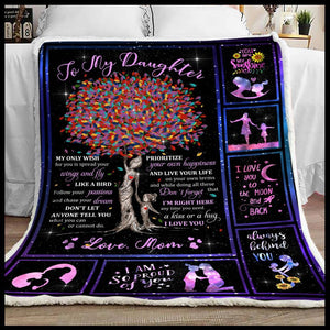Blanket To my daughter My only wish for you