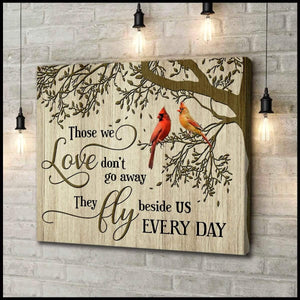 Zalooo Those We Love Cardinal Wall Art Canvas