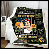Blanket - Army Mom - Someone special