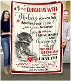 BLANKET ARMY To my Gorgeous Wife Meeting you was fate - Zalooo.com Custom Wall Art Canvas