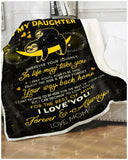 BLANKET SLOTH Daughter (Mom) Wherever your journey in life may take you - Zalooo.com Custom Wall Art Canvas