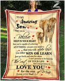 BLANKET - ELEPHANT - Son (Mom) - Love you for the rest of mine
