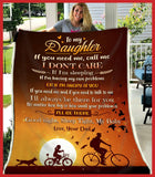 BLANKET - To my Daughter - If You Need Me, Call Me - yenyenstore