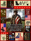 BLANKET - VETERAN - You're a veteran - yenyenstore