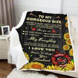 BLANKET - FIREFIGHTER - To my wife - My everything - yenyenstore