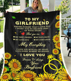 BLANKET - To my girlfriend - My everything - yenyenstore