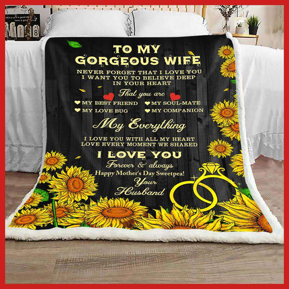 To My Wife - My everything (Happy Mother's Day, Sweetpea) - yenyenstore
