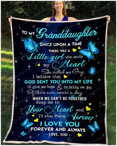 BLANKET - BUTTERFLY - Granddaughter (Gigi) - Once Upon A Time