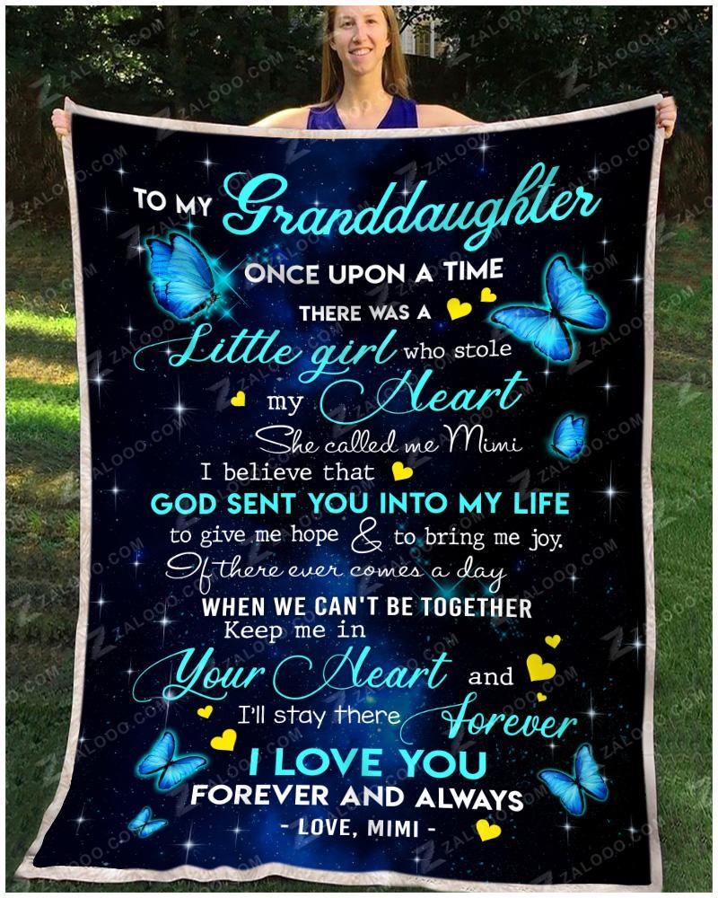 BLANKET - BUTTERFLY - Granddaughter (Mimi) - Once Upon A Time