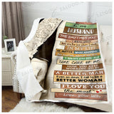 BLANKET TO MY HUSBAND You are the one whom I need