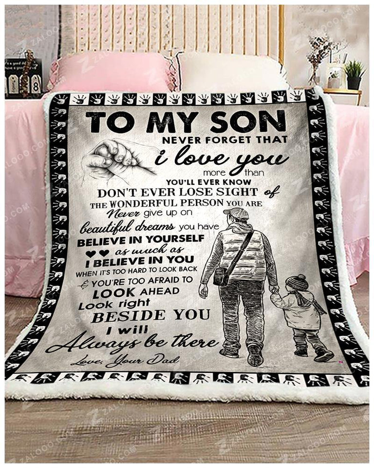 BLANKET - SON (Dad) - Don't ever lose sight