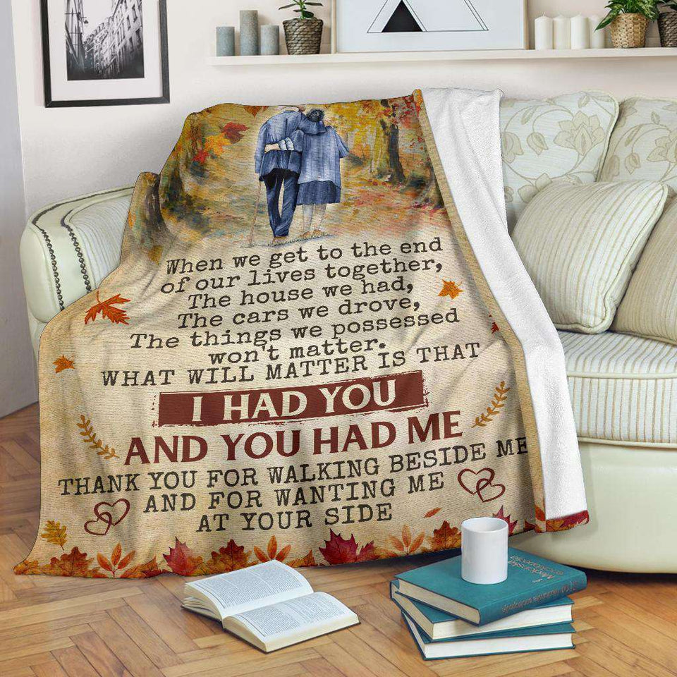 PP - Blanket - Family - I Had You & You Had Me - yenyenstore