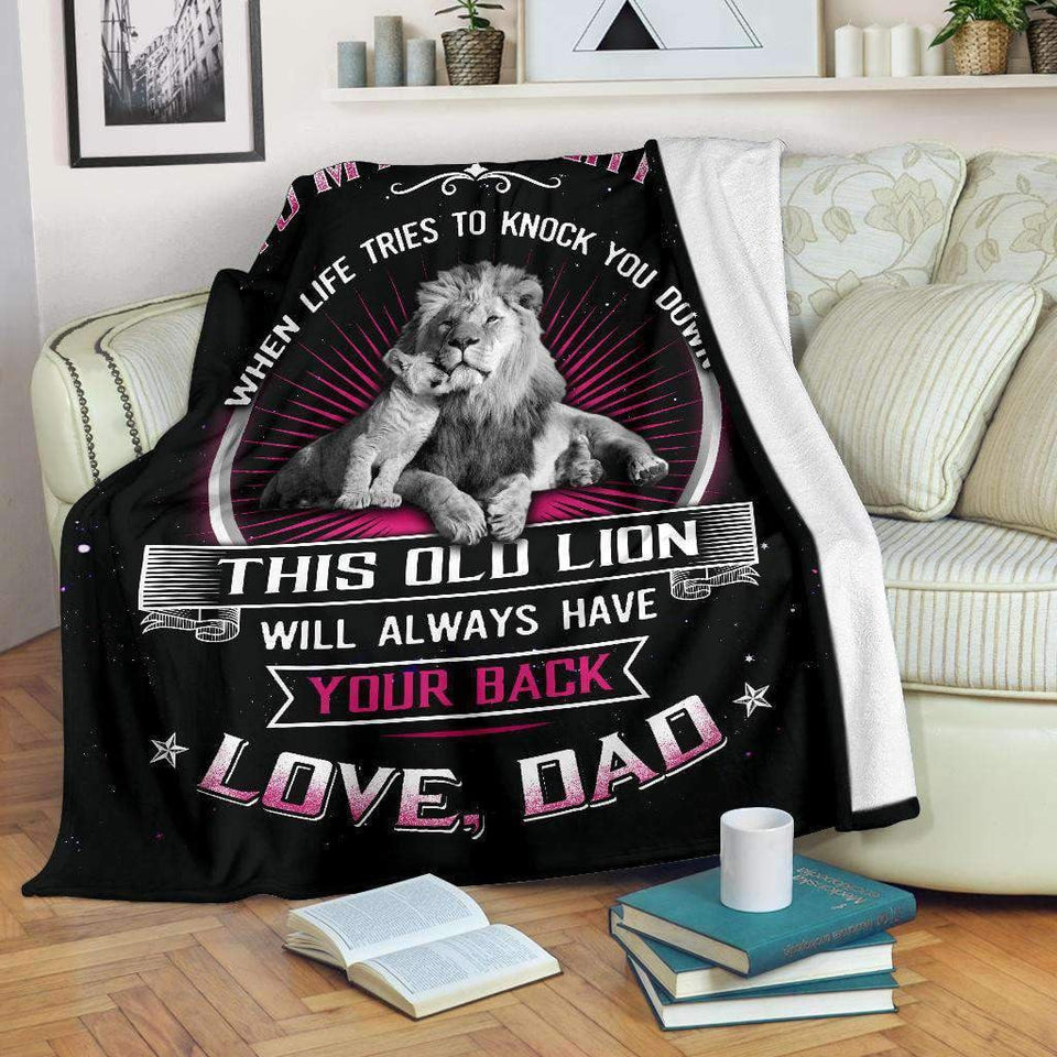 BLANKET - Daughter - When Life Tries to Knock You Down - yenyenstore